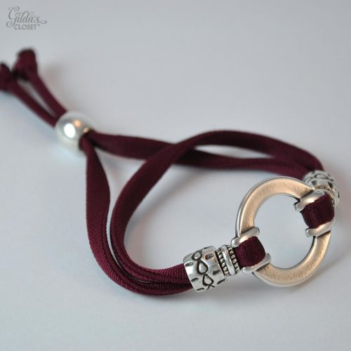Pulsera Carrie granate