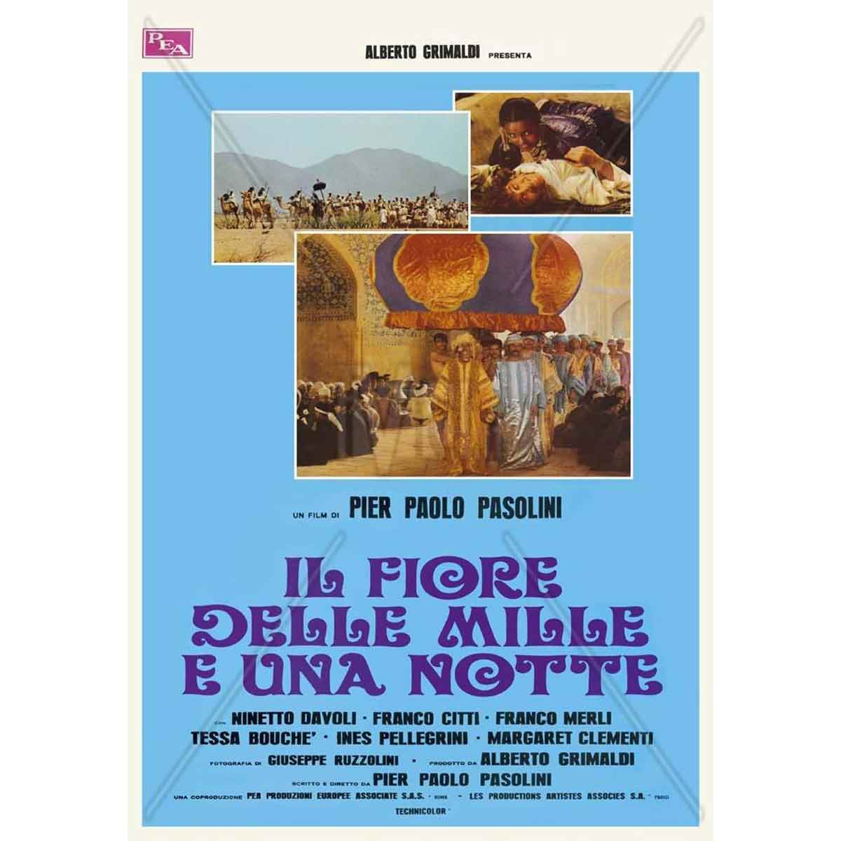 Las Mil y una noches. Pier Paolo Pasolini. Movie.