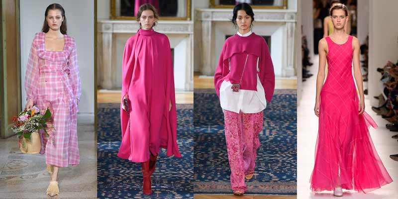 Colores de moda 2017. PINK YARROW. Post Blog Gilda's Closet. tendencias primavera verano 2017