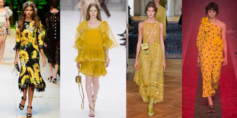Colores de moda 2017. Primrose Yellow. Post Blog Gilda's Closet. tendencias primavera verano 2017
