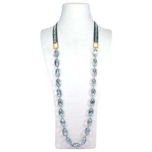 "Collares largos ""Cotton Club"" cristal"